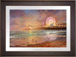 Sunset on Santa Monica Pier – Limited Edition Paper
