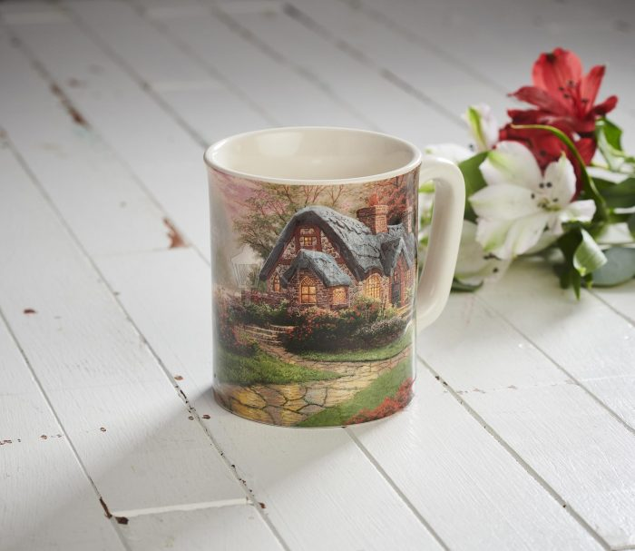 Make a Wish Cottage – Sculpted Mug