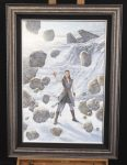 *Original Study* Rey of Hope Thomas Kinkade Studios 28″x42″