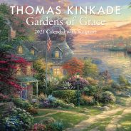 2021 Thomas Kinkade gardens of grace calendar