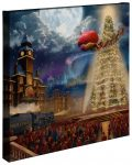 The Polar Express – 20″ x 20″ Gallery Wrapped Canvas