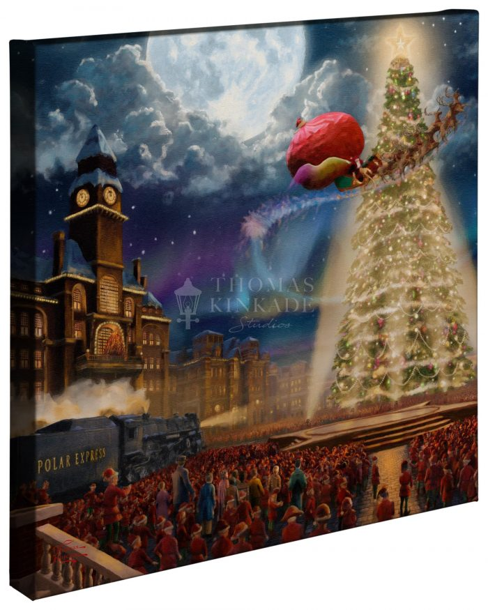 The Polar Express™ – 20″ x 20″ Gallery Wrapped Canvas