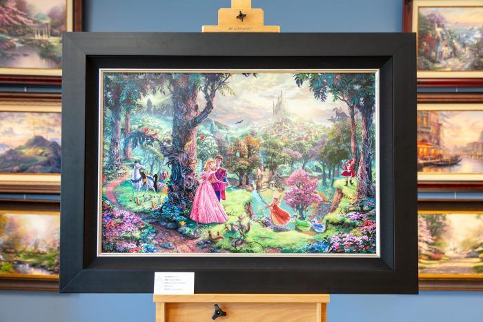 *RARE* Hand Signed, Sleeping Beauty – Limited Edition Canvas, 24″ x 36″, SN, #311