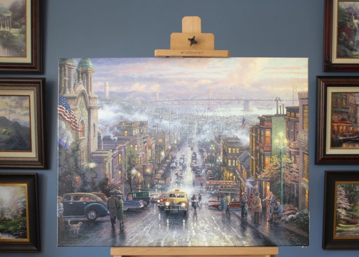 *RARE* Hand Signed, The Heart of San Francisco – Limited Edition Canvas, 25.5″ x 34″, AP, #164