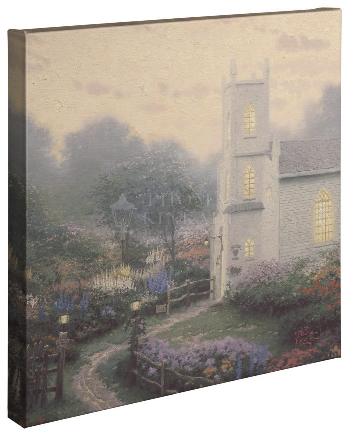 Blossom Hill Church – 20″ x 20″ Gallery Wrapped Canvas