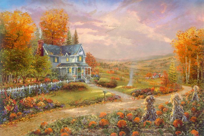 Autumn at Apple Hill – Limited Edition Canvas