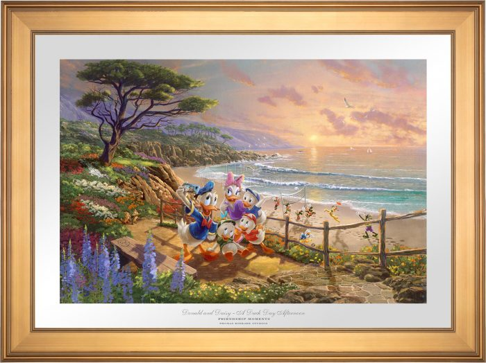 Donald and Daisy – A Duck Day Afternoon – Limited Edition Paper