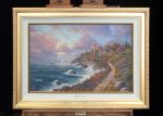*Original Study* Returning Home Thomas Kinkade Studios 30″ x 20″