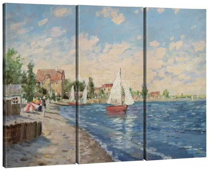 Summer Breeze – 36″ x 48″ (Set of 3) Triptych Giclee Canvas
