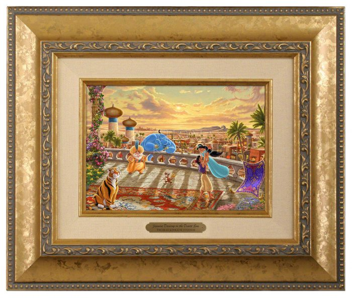 Jasmine Dancing in the Desert Sunset – Brushworks