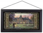 Elegant Evening at Biltmore – 13″ x 23″ Stained Glass Art