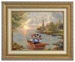 Mickey and Minnie Lighthouse Cove – Canvas Classics