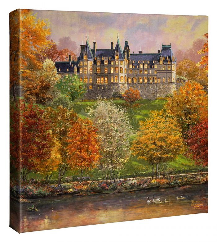 Biltmore in the Fall – 14″ x 14″ Gallery Wrapped Canvas
