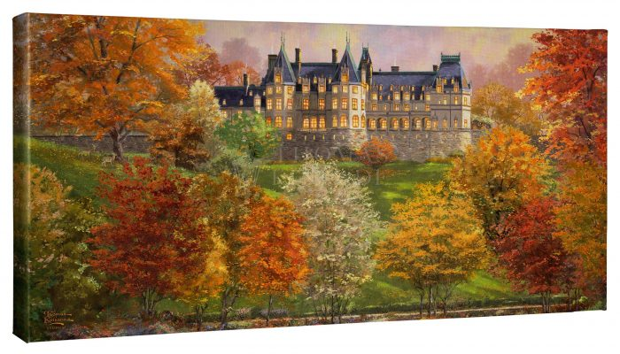 Biltmore in the Fall – 16″ x 31″ Gallery Wrapped Canvas