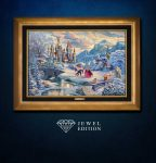 Beauty and the Beast's Winter Enchantment – Jewel Edition Art