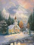 Deer Creek Chapel – Limited Edition Canvas