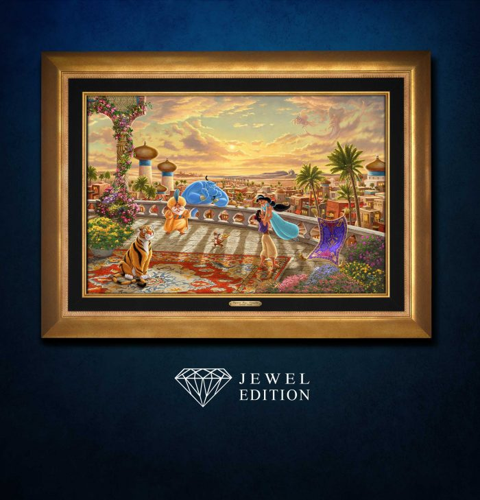 Jasmine Dancing in the Desert Sunset – Jewel Edition Art