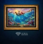 The Little Mermaid Falling in Love  – Jewel Edition Art