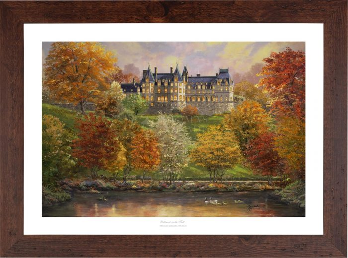 Biltmore in the Fall – Limited Edition Paper