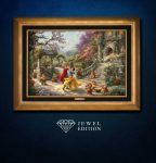 Disney Snow White Dancing in the Sunlight – Jewel Edition Art