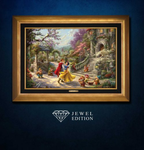 Snow White Dancing in the Sunlight - Jewel Edition Art