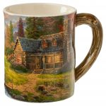 Mountain Paradise – Sculpted Mug