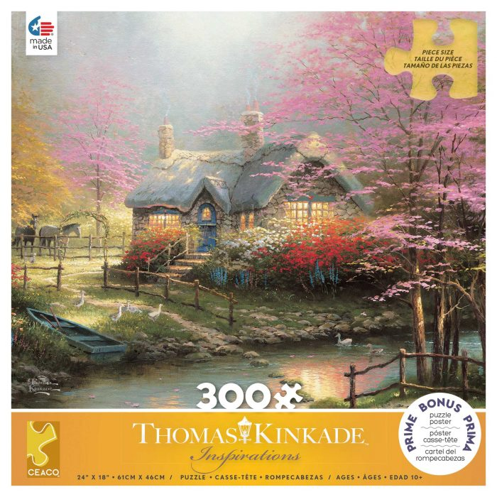 Stepping Stone Cottage – 300 Piece Puzzle