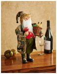 Wine Tasting Santa – 15″ Sculpture