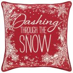 Dashing Away – 18″ x 18″ Pillow
