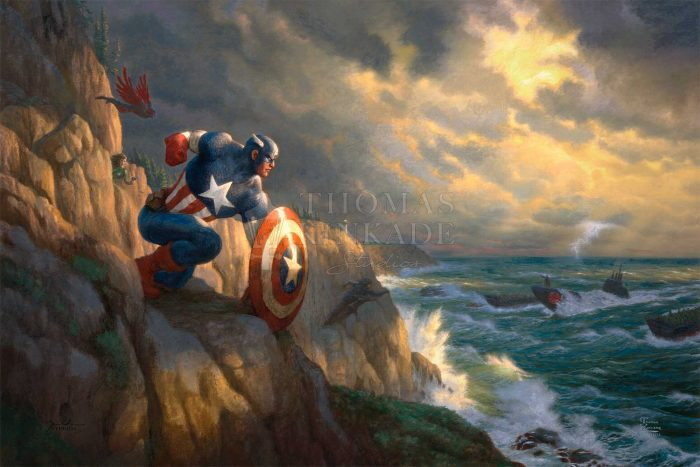 Captain America – Sentinel of Liberty – Limited Edition Canvas