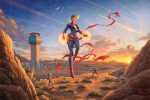 Captain Marvel – Dawn of A New Day – Limited Edition Canvas