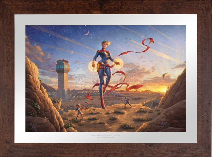 Captain Marvel – Dawn of A New Day – Limited Edition Paper