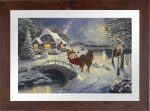 Mickey and Minnie Evening Sleigh Ride – Limited Edition Paper