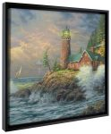 Courage – 20″ x 20″ Gallery Wrapped Canvas (Onyx Black Frame)