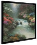 Beside Still Waters – 20″ x 20″ Gallery Wrapped Canvas (Onyx Black Frame)