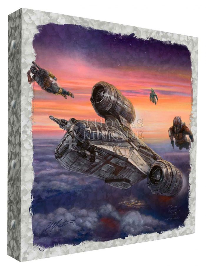The Mandalorian – The Escort – 14″ x 14″ Metal Box Art