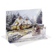 Hallmark 3D Pop-up Christmas Card