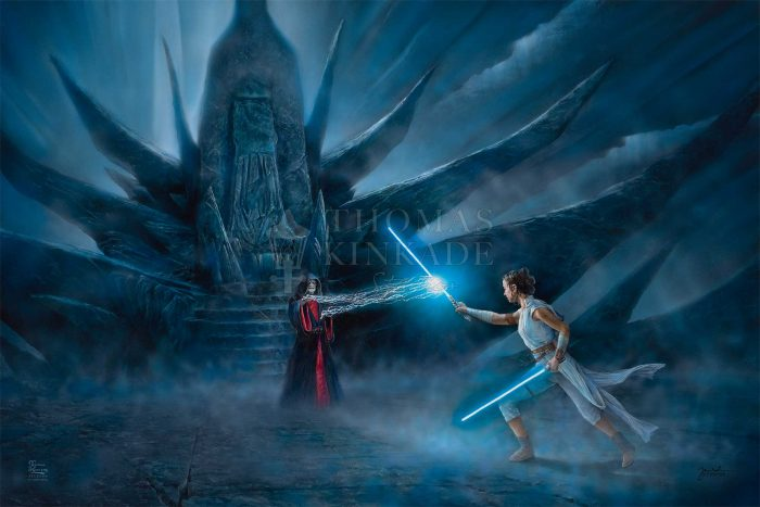 Rey's Awakening – Limited Edition Canvas