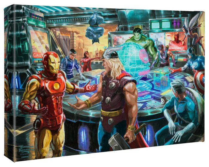 The Avengers – 10″ x 14″ Gallery Wrapped Canvas