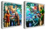 The Avengers – Set of 2 – 14″ x 14″ Metal Box Art