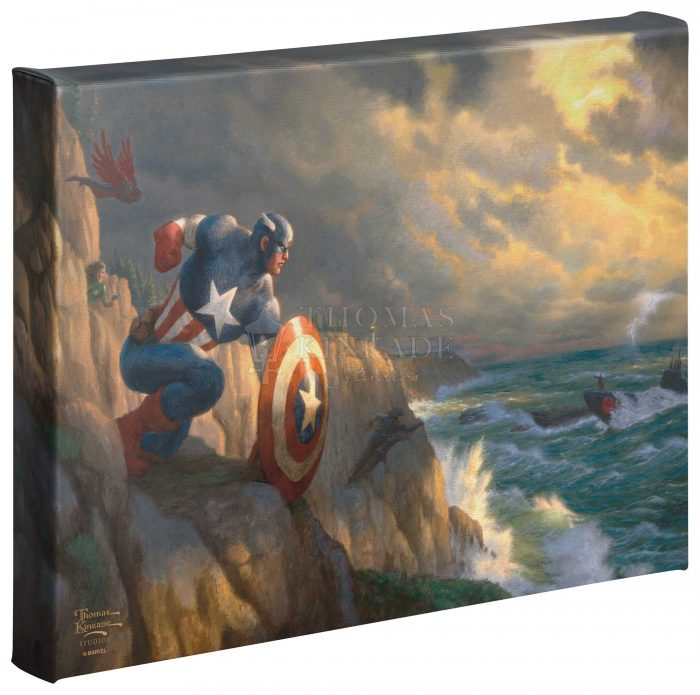 Captain America – Sentinel of Liberty –  10″ x 14″ Gallery Wrapped Canvas