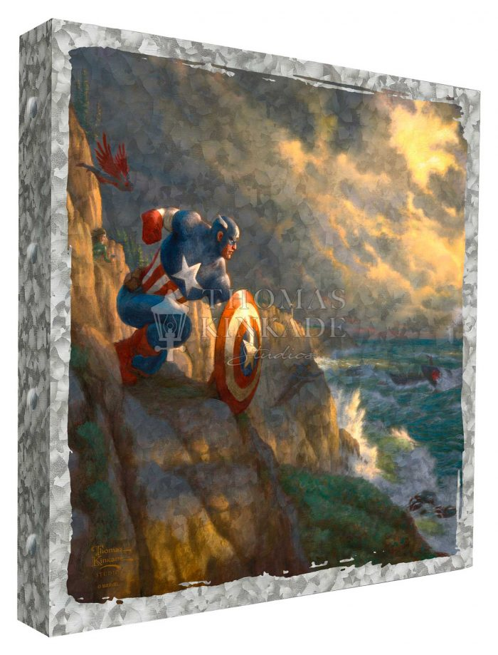 Captain America – Sentinel of Liberty –  14″ x 14″ Metal Box Art