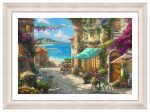 Italian Café – 18″ x 27″ SN LE Paper With Ivory Frame