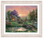 Sweetheart Retreat – 20″ x 24″ SN Paper With Ivory Frame