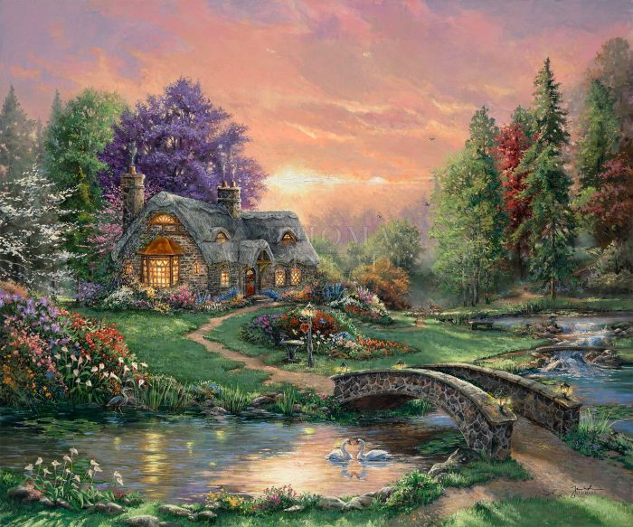 Sweetheart Retreat I – Limited Edition Canvas