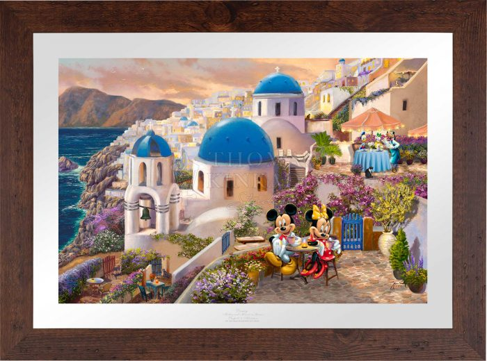 Disney Mickey and Minnie in Greece – Limited Edition Paper