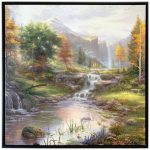 Reflections of Family – 36″ X 36″ Framed Canvas Wall Murals