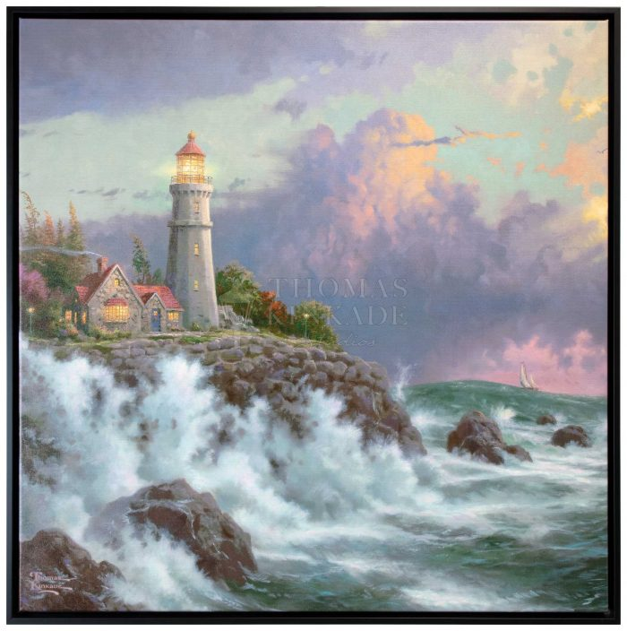 Conquering the Storms – 36″ X 36″ Framed Canvas Wall Murals