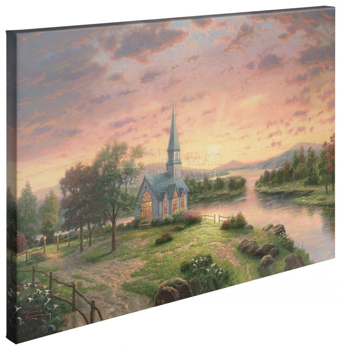 Sunrise Chapel – 24″ X 36″ Gallery Wrapped Canvas