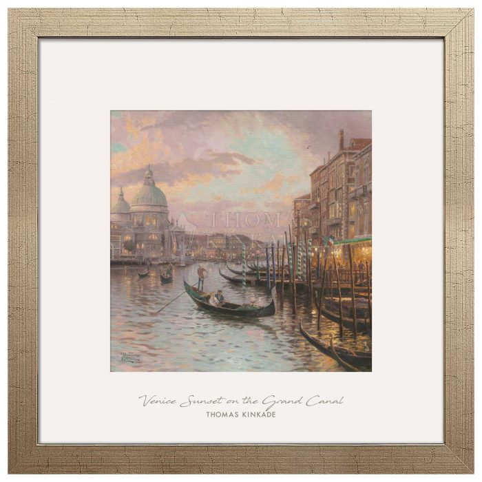 Venice Sunset on the Grand Canal – 32″ x 32″ Prominence